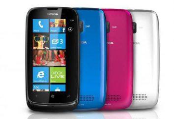Nokia 610: Opis telefon, specyfikacje, opinie i referencje