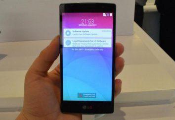 Smartphone LG Espíritu: Revisión, comentarios