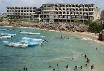 Die Hauptstadt von Somalia, einem geheimnisvollen und gefährlichen