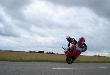 Motocykl Suzuki RF400: turysta z duszą sportowej