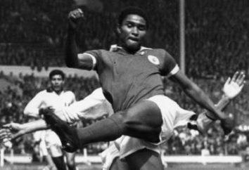 Eusebio, jogador de futebol: biografia e carreira no esporte