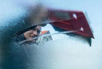 La science pour aider: comment décongeler rapidement le pare-brise