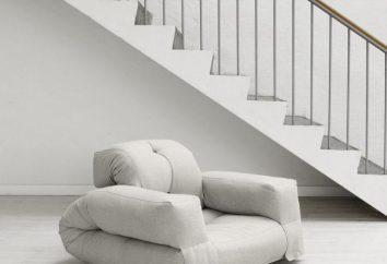 Lit chaise pour un usage quotidien. Meubles rembourrés pour votre maison
