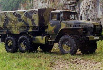 """""""Ural-4320"""" avec YaMZ: TTX. militaire """"Ural-4320"""""""