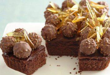 """Ciasto """"Ferrero Rocher"""": przepis ze zdjęciem"""