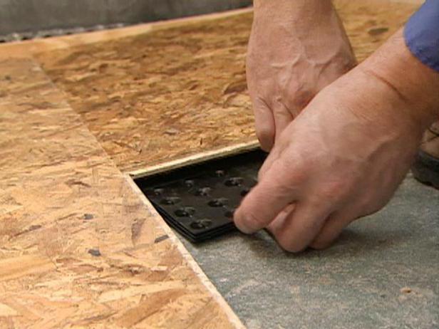 C mo aislar pisos en el apartamento aislamiento para suelo de madera calefacci n por suelo - Material suelo radiante ...