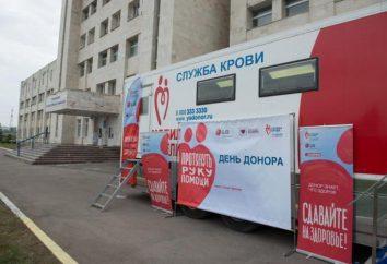 Station de transfusion sanguine, Ulyanovsk: adresse, horaires d'ouverture