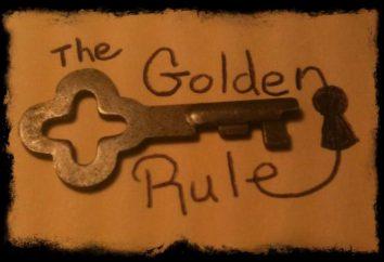 Die goldene Regel der Betriebswirtschaft: die Formel. Was ist die goldene Regel der Wirtschaft genannt?