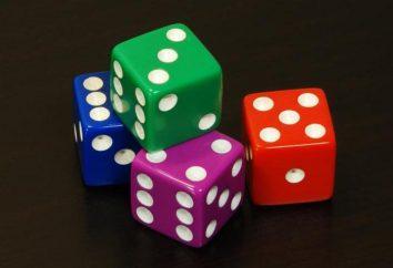 Hazard kości w kasynie: nazwę i charakter