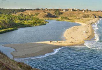 Der Weg zum Schwarzen Meer: der Fluss fällt