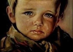 """Giovanni Bragolin, pittura """"Piangere ragazzo"""": la storia, la descrizione e le foto"""