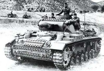 Czołgi Wehrmachtu: dane techniczne i zdjęcia