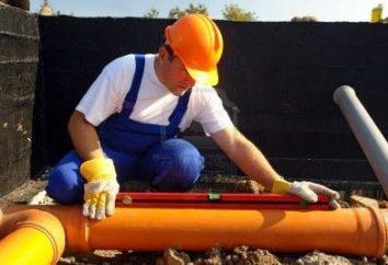 Il versante destro del tubo fognario – a garanzia della sua auto-pulizia