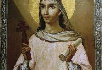 Paraskeva Pyatnitsa: à prier? Icône de Saint-Paraskeva