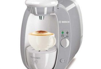 """máquina de café """"Bosch"""": escolha um ajudante casa"""