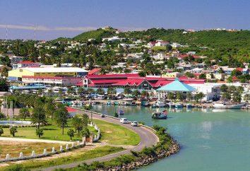 San Giovanni – la capitale di Antigua e Barbuda