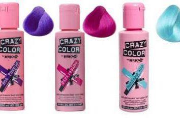 Colore Crazy – tinture per capelli che trasforma la tua vita in una vacanza eterna