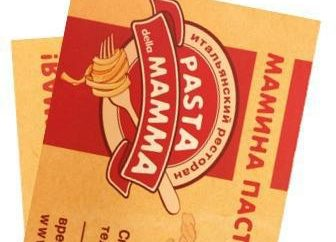 Mamina Paste restaurante: dirección, menú, comentarios