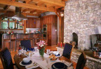 L'intérieur d'origine de la maison en bois: des idées intéressantes, caractéristiques et recommandations