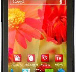 Telefon MTS 970H: charakterystyka. Firmware dla wszystkich operatorów