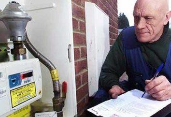 Come prendere letture del contatore del gas