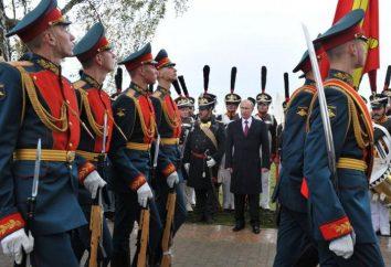 Regimento Semenov em Moscou