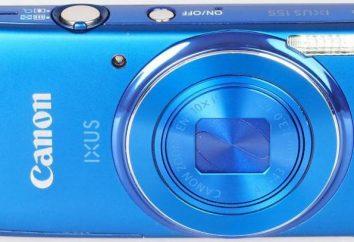 Appareil photo numérique Canon IXUS 155: une vue d'ensemble, des fonctionnalités et des critiques.