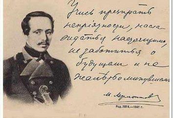 Kwestia literacka na Lermontov z odpowiedziami