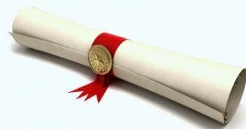 Certificat de mérite comme un moyen de récompenser les employés