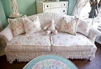 slipcovers de couture pour les meubles de ses propres mains