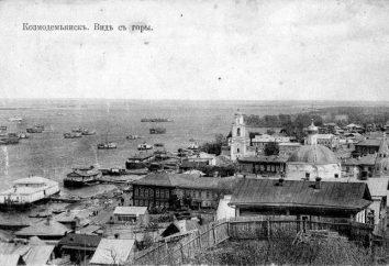 Kozmodemyansk: curiosité, histoire, photos