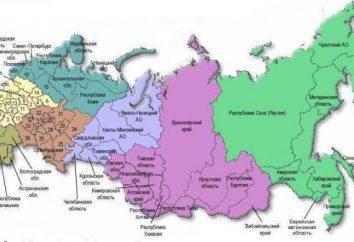 Regione della Russia – la loro diversità e peculiarità