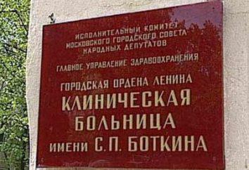Hôpital Botkin à Moscou. Botkin Hospital – comment y arriver? Botkin hôpital – services payants