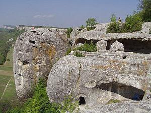 Eski-Kermen – ville fortifiée magnifique