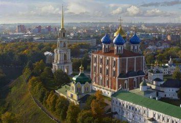 Ryazan Region: Sehenswürdigkeiten und wichtige Orte