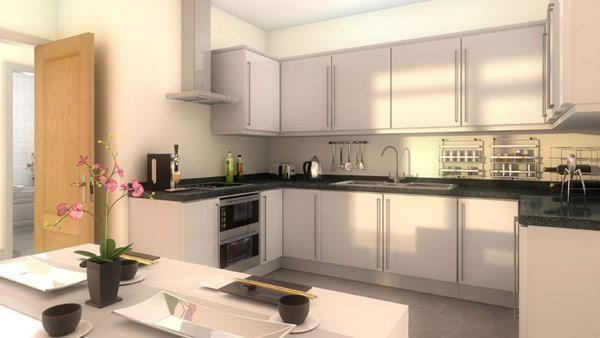 Cocina de dise o de software sketchup pro100 for Software cocinas 3d