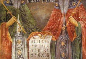 Kirill I Mefody: brève biographie, faits intéressants de la biographie, la création de l'alphabet slave