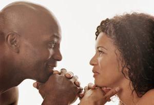 Si un homme regarde fixement dans les yeux, il est pas nécessairement dans l'amour