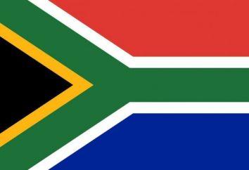 Sud Africa: la bandiera del paese e lo stemma