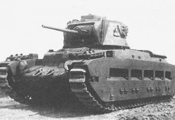 """""""Matilda"""" – tanque de apoio de infantaria"""