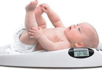 Jaki powinien być przyrost masy ciała u niemowląt?