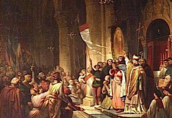 Les participants de la quatrième croisade, les objectifs, les résultats