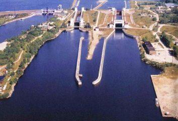 canal Volga-Baltique. Croisière canal Volga-Baltique