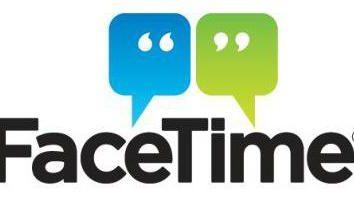 """Das Programm """"Face Time"""": die Installation, Aktivierung, Konfiguration. Fehlersuche und Beseitigung"""