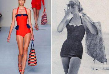 maillots de bain rétro est de retour à la mode