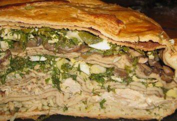 Füllung für Kurnik: Rezepte mit Huhn, Pilzen und Kartoffeln. Geheimnisse des Kochens Kurnik