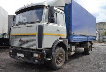 Caractéristiques techniques du camion MAZ-53366