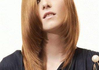 assimetria brilhante – corte de cabelo para naturezas dinâmicas