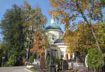 Che è sepolto nel cimitero Vagankovsky di celebrità?