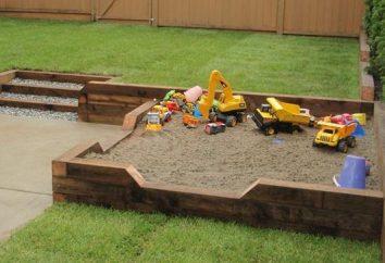 Jak się nie tylko tworzyć własne ręce, drewnianą piaskownicę, ale również je chronić